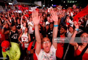 https://media.gettyimages.com/photos/fans-react-as-toronto-raptors-fans-gather-to-watch-game-4-of-the-nba-picture-id1148487094?s=2048x2048